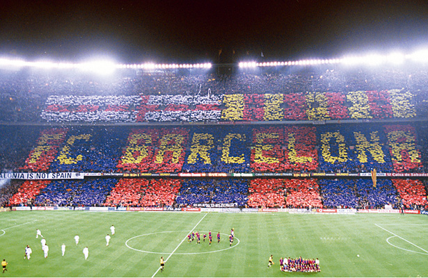 Resultado de imagen para aficion del barcelona